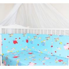 Бортики для детской кроватки 60х35см