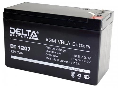 Аккумулятор 12v 7ah Delta DT 1207