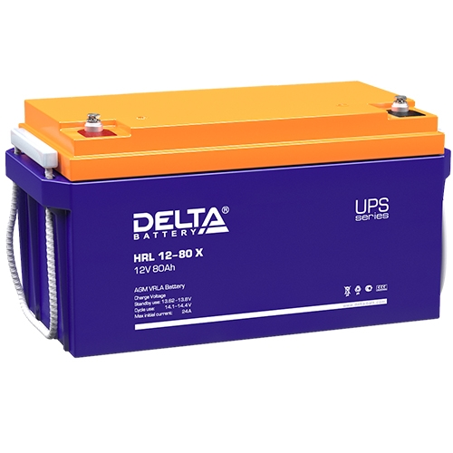 Аккумулятор Delta HRL 12-80 X (12V / 80Ah)