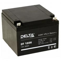 Аккумулятор 12V / 26Ah Delta DT 1226