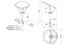 Светодиодный светильник КАШТАН 27 Вт LE-СТУ-36-027-Х-67Т