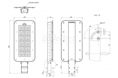Светодиодный светильник КЕDR 2.0 СКУ 150 Вт LE-СКУ-32-150-Х-67Х