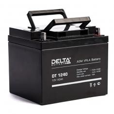 Аккумулятор 12V / 40Ah Delta DT 1240