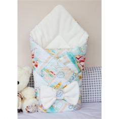 Конверт-одеяло на выписку Весна-Осень
