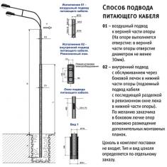 Опора СП-300/400/600/700/800/-/8.0/8.5/9.0/11.0/-/10.5/11.0/13.5/-01-ц/-02-ц силовая прямостоечная трубчатая